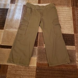 Northface cropped pants size 10